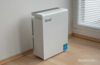 Levoit LV PUR131 review air filter standing side view