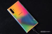 Samsung Galaxy Note 10 Plus face down 1