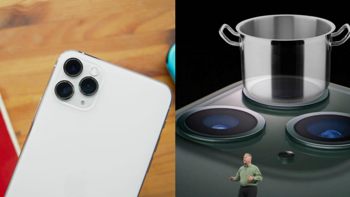 iphone 11 pro stove