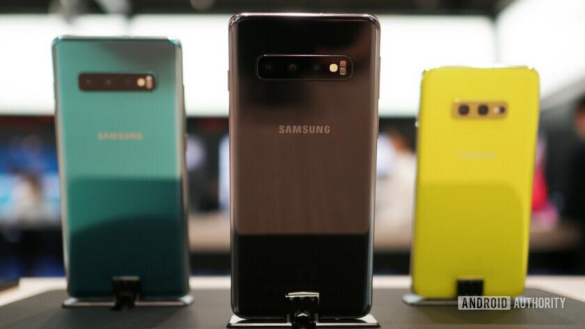 Samsung Galaxy S10, S10 Plus and S10e bokeh