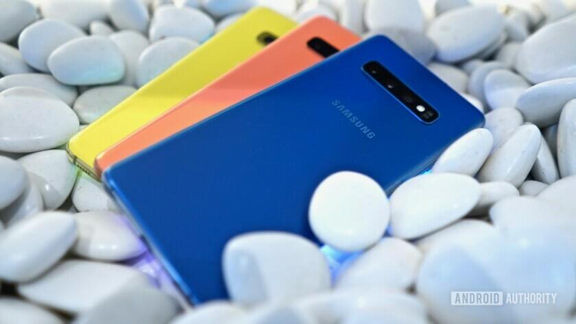 Samsung Galaxy S10 hands on