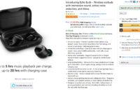 Amazon Echo Buds Amazon listing