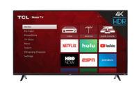 TCL 43 inch 4K Roku TV