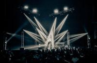 Bo Burnham on stage.