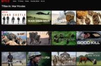 Netflix War movies
