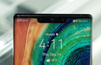 Huawei Mate 30 Pro notch front facing camera status bar