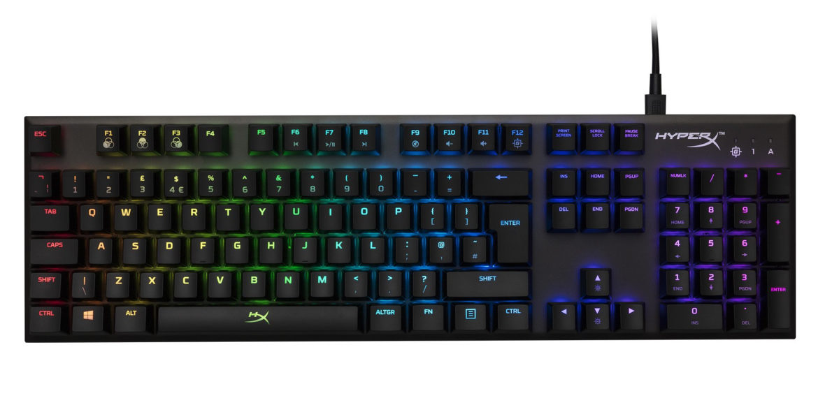 hyperx alloy fps rgb gifts for gamers