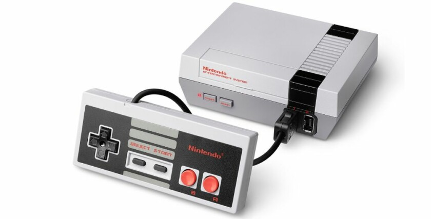NES Mini - best gifts for retro gamers
