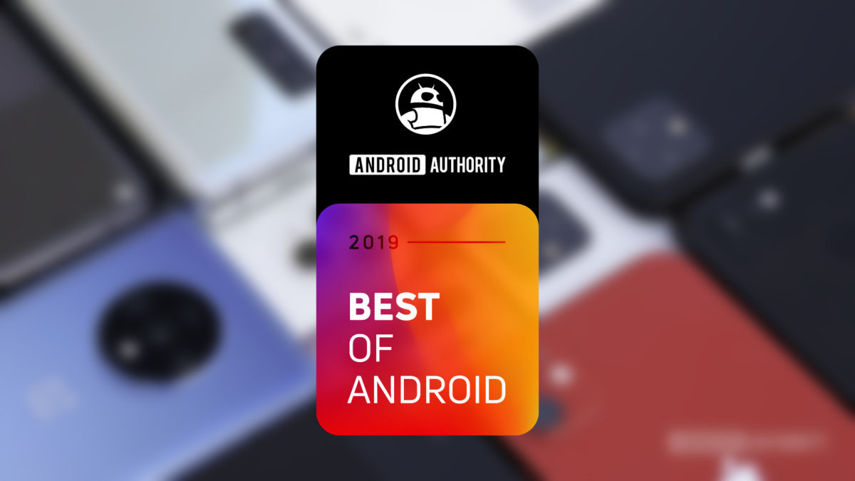 Best of Android 2019 header