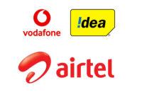 Airtel Vodafone Idea logos