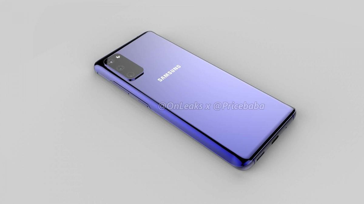 Samsung Galaxy S11e renders 1