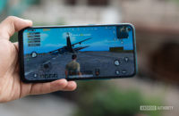 Vivo Z1 Pro with PUBG running on it