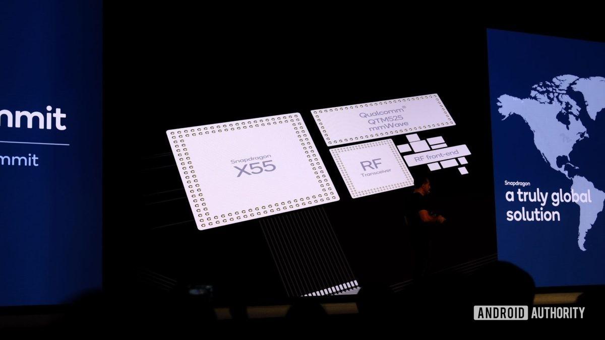 Qualcomm Snapdragon 865 internals slide