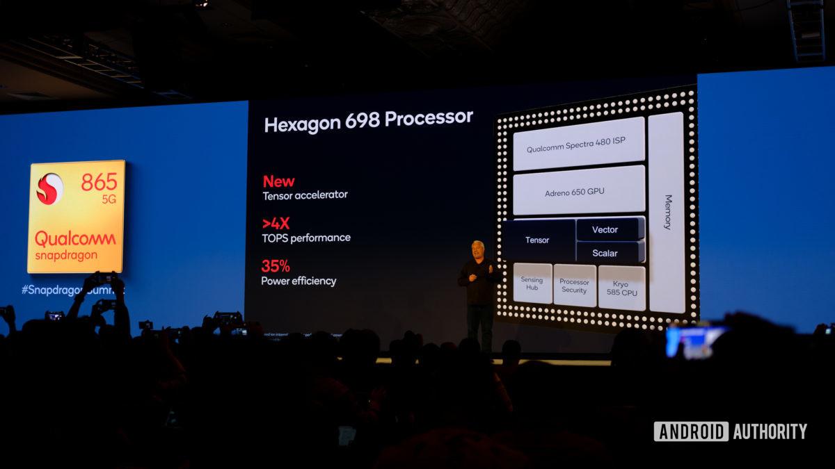 Qualcomm Snapdragon 865 Hexagon 698 slides