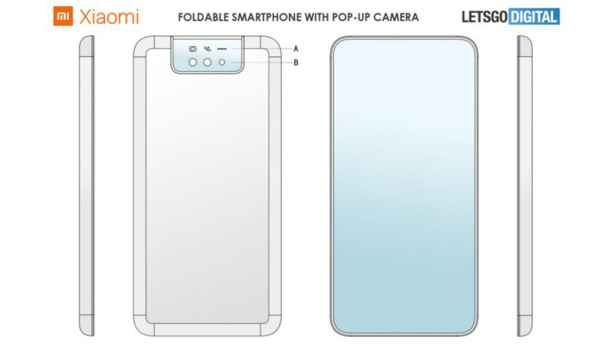 Xiaomi Foldable Clamshell Patent 1