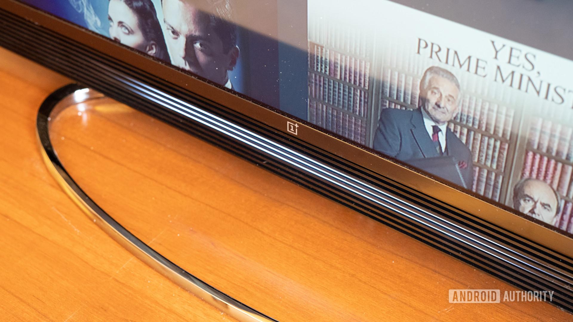 OnePlus TV lights on soundbar