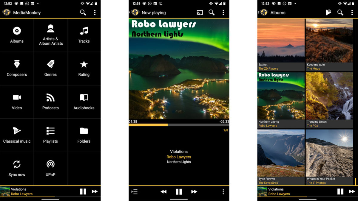MediaMonkey is one of the best music player apps