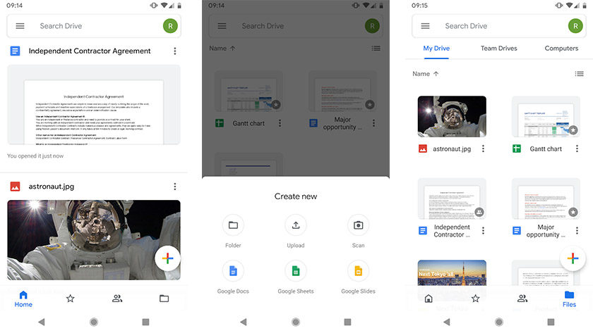 Google Drive is one of the best data apps for android