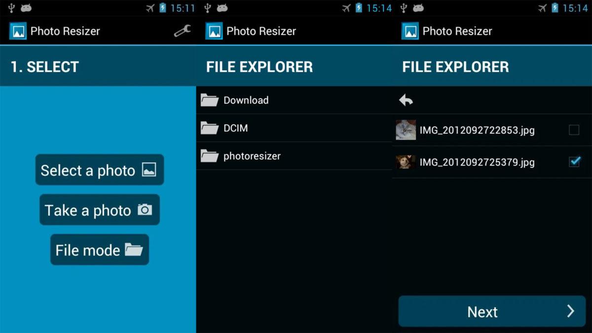 Photo Resizer screenshot