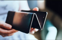 TCL zigzag foldable phone prototype