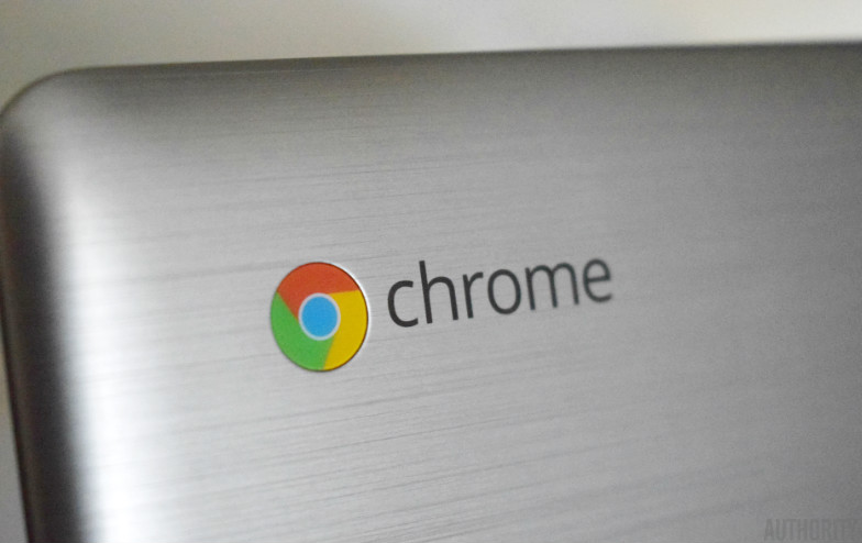 The Chrome OS logo.