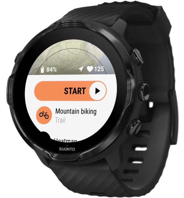 suunto 7 wear os smartwatch mountain biking maps