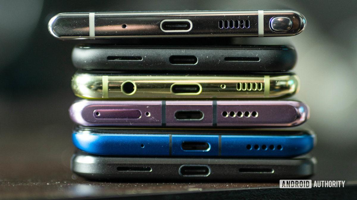 USB C ports stack