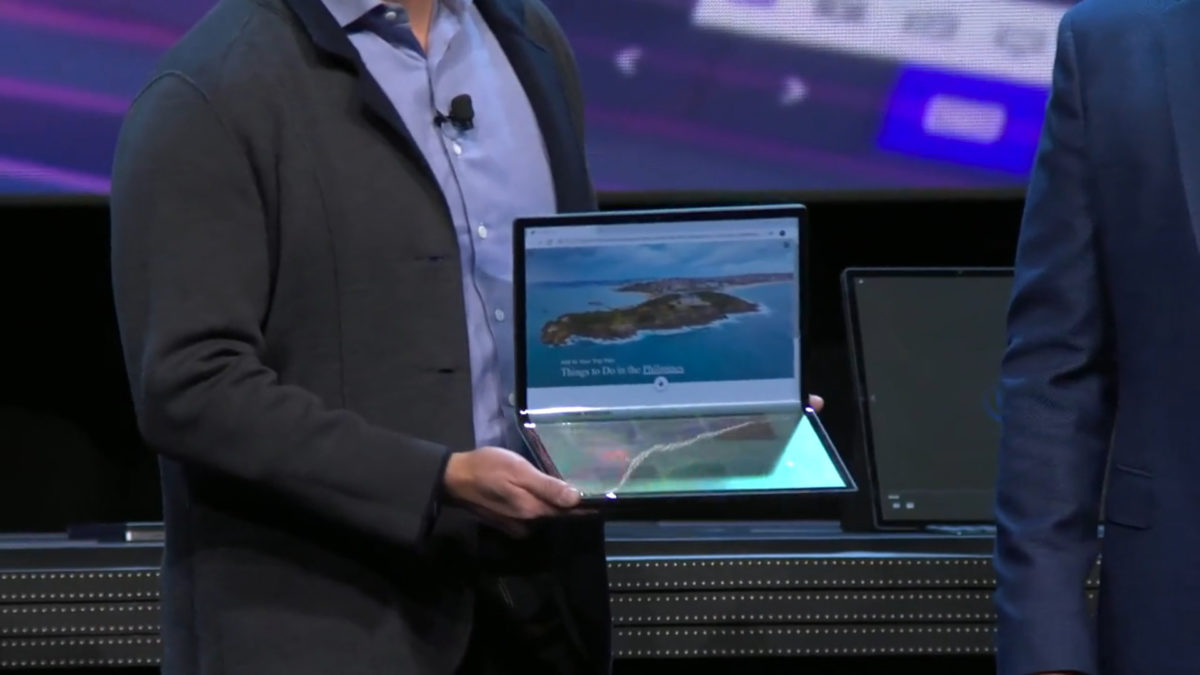 Intel Horseshoe Bend CES 2020