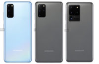 Samsung Galaxy S20 family leaked press renders hero