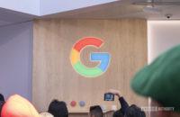 google logo G at ces 20201