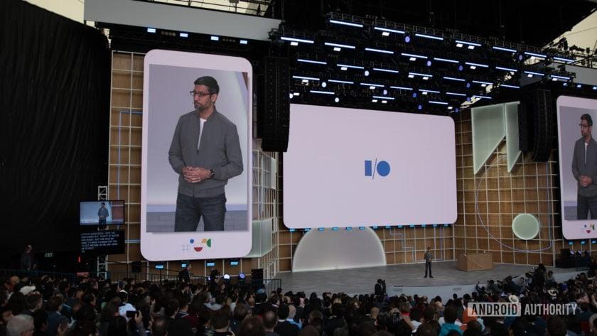 Google I/O 2019 Sundar Pichai