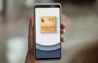 Qualcomm Snapdragon 865 5G Mobile Platform Reference Design In Hand