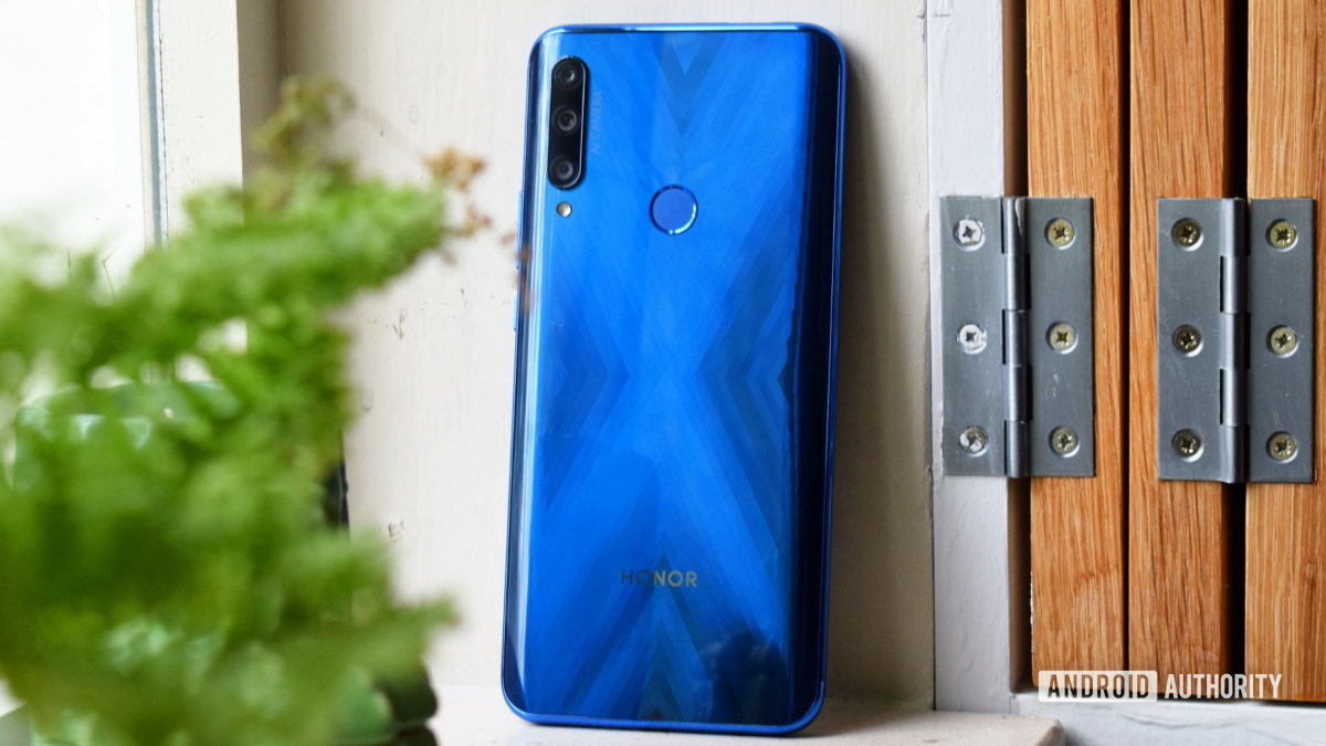 Honor 9X back full