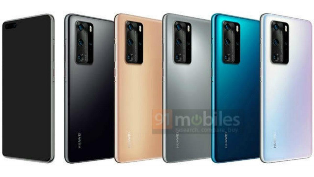 Huawei P40 Pro colorways leak
