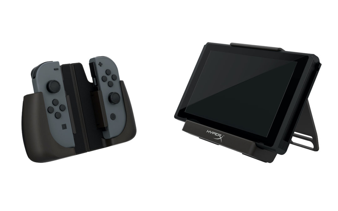 HyperX ChargePlay Clutch Nintendo Switch 4 tabletop mode