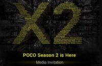 poco x2 launch invite