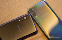 Samsung Galaxy M40 vs Galaxy A50 top camera modules