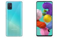 The Samsung Galaxy A51.
