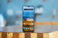 OnePlus 7T Upright on table in cafe 1