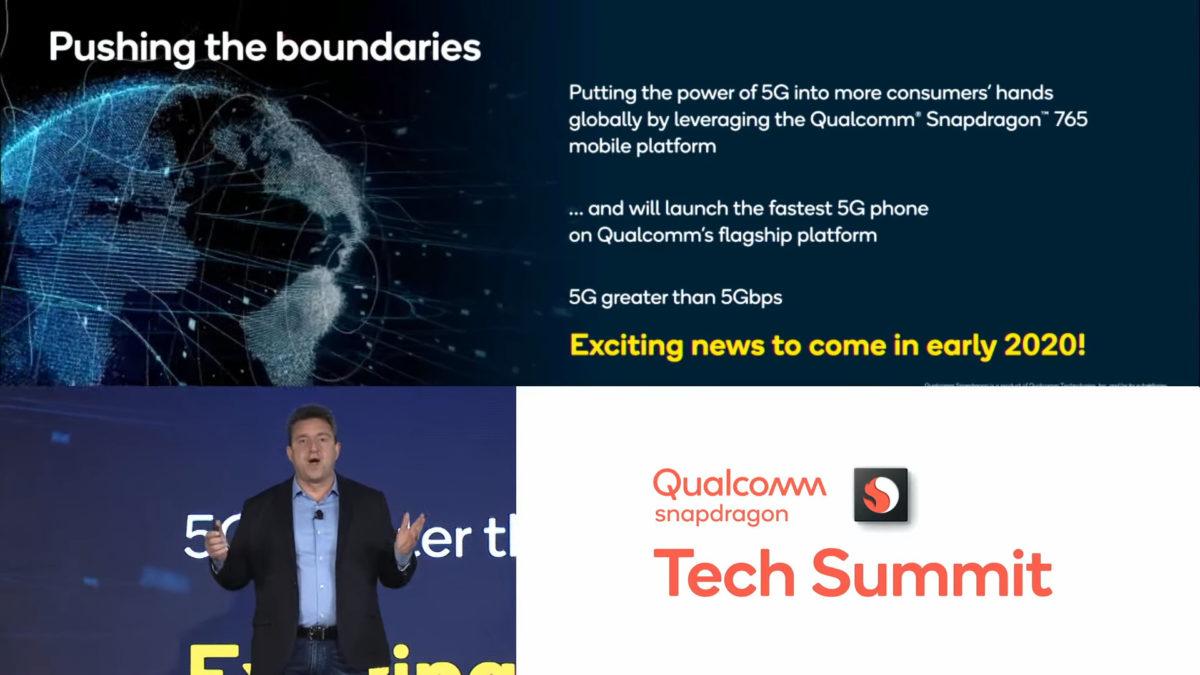Motorola at the Snapdragon Tech Summit 2019.