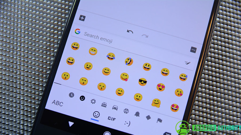 Emoji on an Android phone.