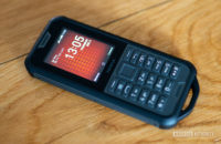 Nokia 800 Tough review feature phone on table