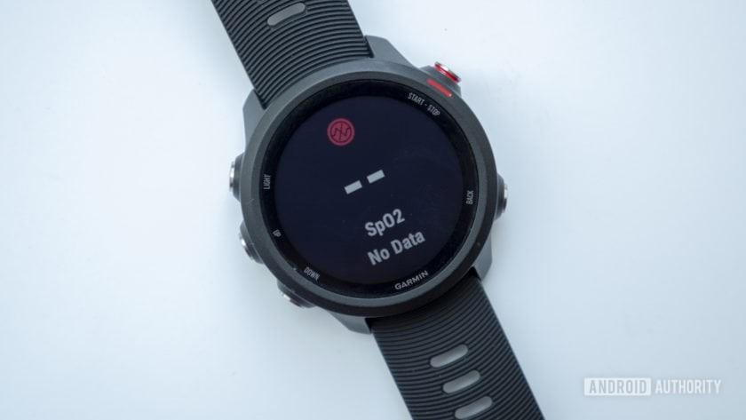 garmin forerunner 245 music running watch spo2 sensor