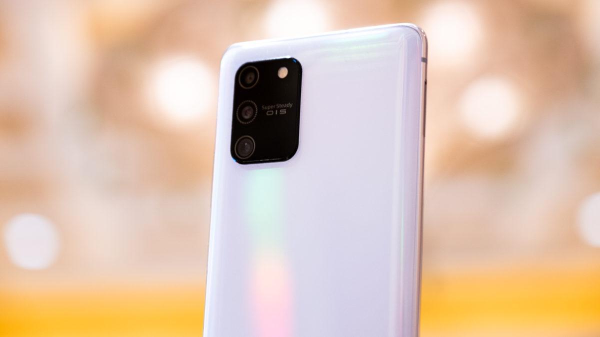 Samsung Galaxy S10 Lite back camera array 2