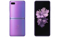 Samsung Galaxy Z Flip Leaked Render Front and Back