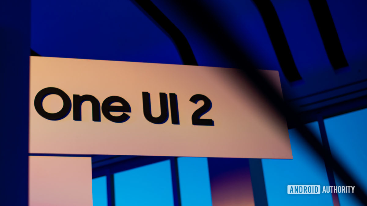 Samsung One UI 2.0 at Samsung Developer Conference 2019 2