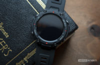 huami amazfit t rex smartwatch display off on table 2