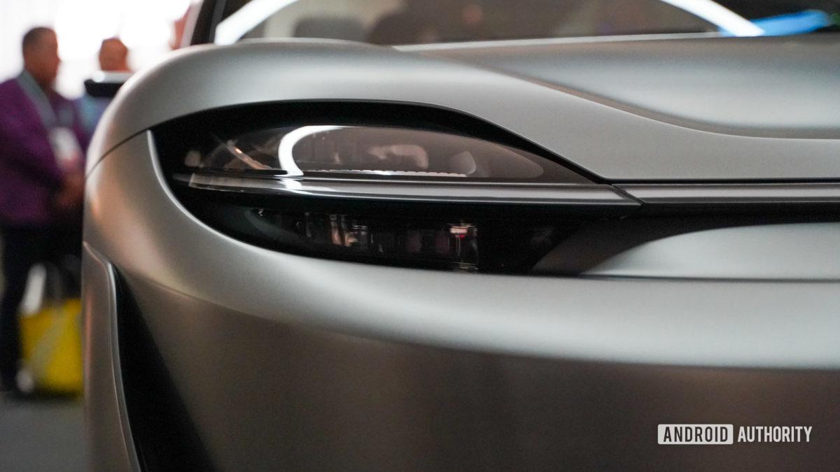 Sony Vision-S headlight profile