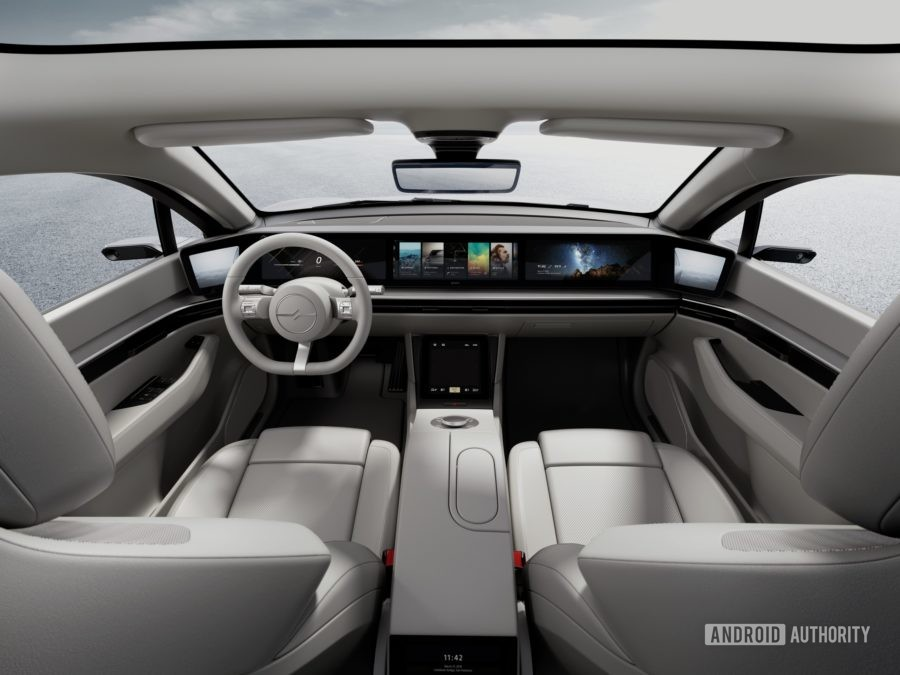 Sony Vision S dashboard