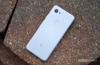 Google Pixel 3a Purple-ish Rear Ground